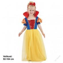Dětský karnevalový kostým SNĚHURKA 92 - 104cm ( 3 - 4 roky )